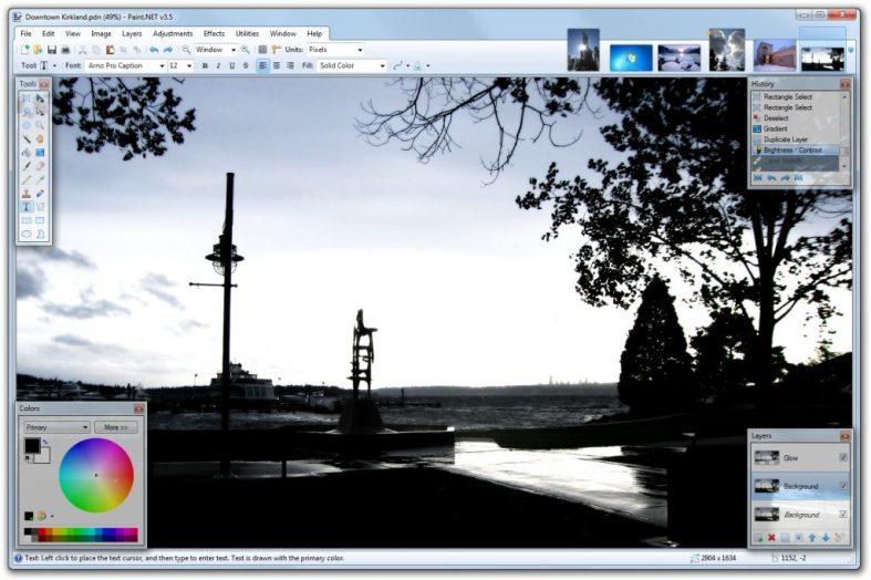 logiciel retouche photo gratuit_Paint.Net
