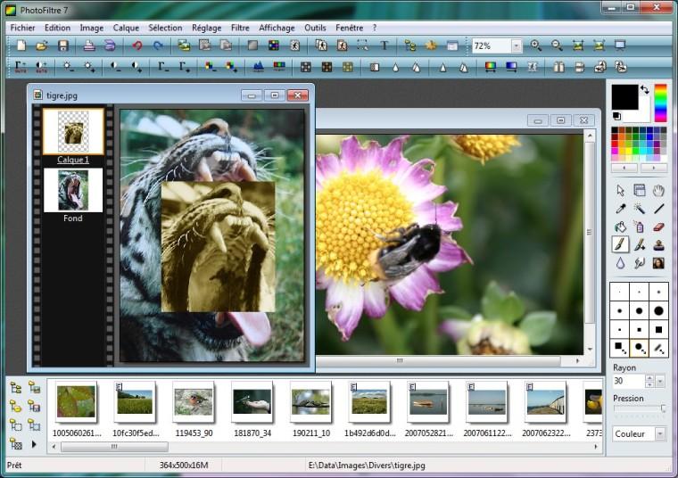 logiciel retouche photo gratuit_Photofiltre