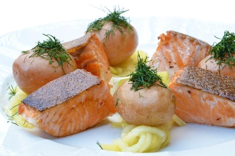 saumon cuit