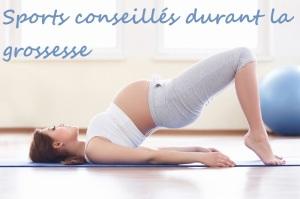 sports conseillés aux femmes enceintes
