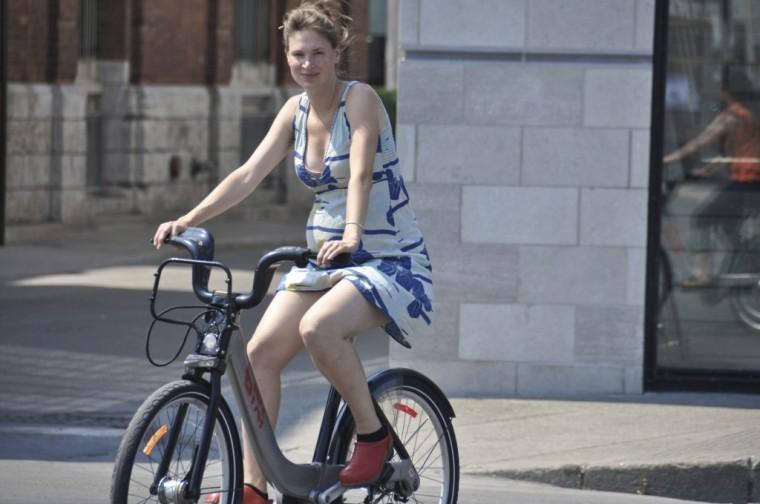vélo durant la grossesse