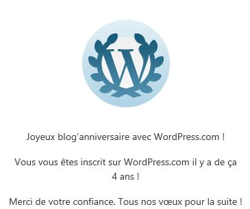 blog anniversaire_4 ans de femme & infos