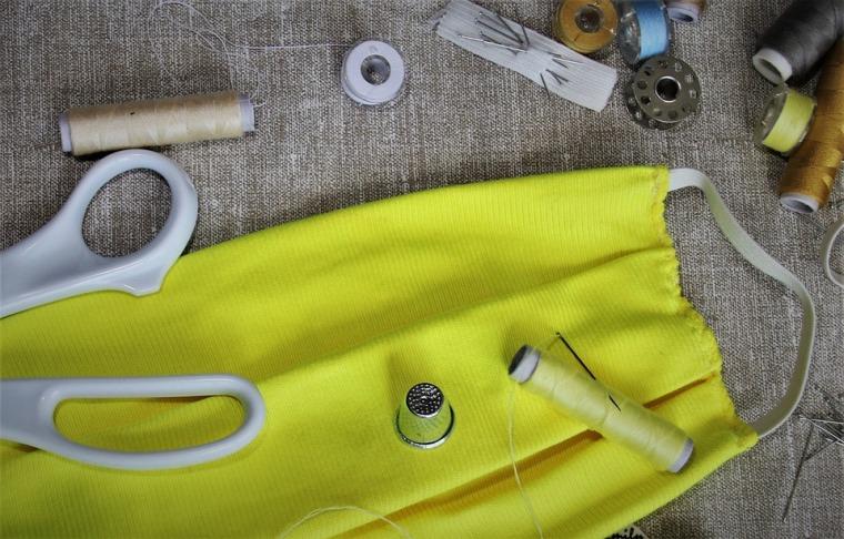 DIY masque tissu