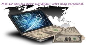 Monétisation blog personnel